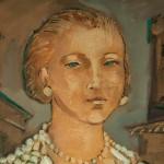"""""""Eleonora di Toledo"""" di Guido Quadrio - olio su tela"""
